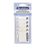 Beadalon Silk Wire 5-pack White