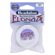 Beadalon Elonga Elastic Thread 1.0mm White