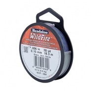 Beadalon Wildfire Wire 0.15mm Blue