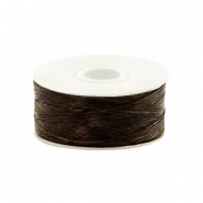 Beadalon Nymo Wire 0.3mm Brown