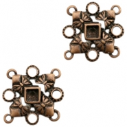 Charms TQ metal setting connector bows Copper (Nickel Free)