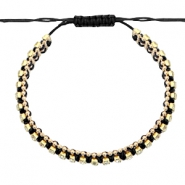 Ready-made Bracelets strass Black-Crystal