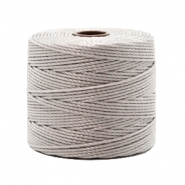 Nylon S-Lon cord 0.6mm Silver Grey