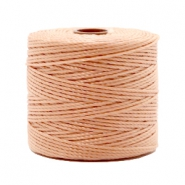 Nylon S-Lon cord 0.6mm Vintage Rose Brown