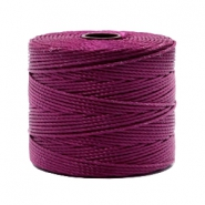 Nylon S-Lon cord 0.6mm Wineberry Red
