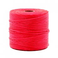 Nylon S-Lon cord 0.6mm Dark Coral Pink