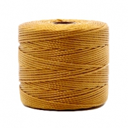 Nylon S-Lon cord 0.6mm Golden Brown
