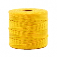 Nylon S-Lon cord 0.6mm Sunflower Yellow
