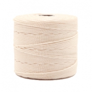 Nylon S-Lon cord 0.6mm Light Beige