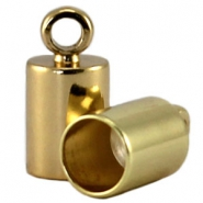 DQ end cap 2mm  DQ Gold durable plating