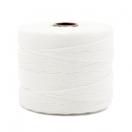 Nylon S-Lon cord 0.6mm White