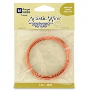 16 Gauge Artistic Wire Bare Copper