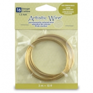 16 Gauge Artistic Wire Tarnish Resistant Brass