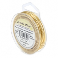18 Gauge Artistic Wire Tarnish Resistant Brass