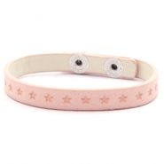 Ready-made bracelets stars Light Blush Pink