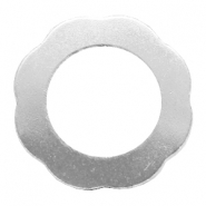 ImpressArt stamping blanks ring flower 28mm Aluminum Silver