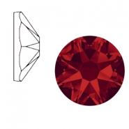 Swarovski Elements 2088-SS 34 flat back (7mm)  Xirius Rose Light Siam Red