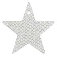 DQ European leather pendants star Star White