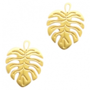 Bohemian charms leaf Gold