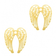 Bohemian charms angel wings Gold