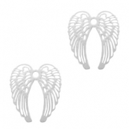 Bohemian charms angel wings Silver