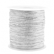 Trendy cord metal style wire 0.5mm Silver