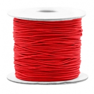 Coloured elastic cord 0.8mm Red