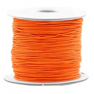 Coloured elastic cord 0.8mm Vibrant Orange
