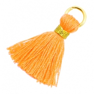 Tassels 1.8cm Gold-Fire Orange