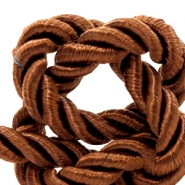 Trendy cord weave 6mm Light chocolate brown