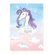 "Jewellery cards ""you are my unicorn"" Multicolour Pink-Blue"