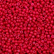 Glass seed beads 12/0 (2mm) Carmine Red