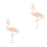 Bohemian charms flamingo Light Pink