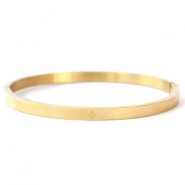 Stainless steel bracelets anchor Gold
