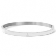 Stainless steel bracelets anchor Silver