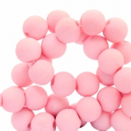 6 mm acrylic beads Pink