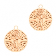 Bohemian charms saint Rose Gold