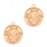 Bohemian charms Jesus Rose Gold