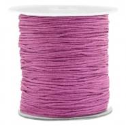Macramé bead cord 1.0mm Violet Purple