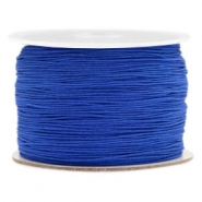 Macramé bead cord 0.5mm Egyptian Blue