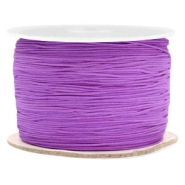 Macramé bead cord 0.5mm Soft Grape Purple