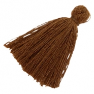 Tassels basic 3cm Dark Chocolate Brown