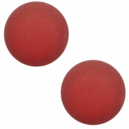 12 mm classic Polaris Elements cabochon matt Warm Red