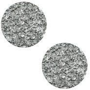 12 mm flat Polaris Elements cabochon Goldstein Gallant Grey