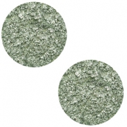 20 mm flat Polaris Elements cabochon Goldstein Chinois Green Grey