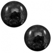 12 mm classic Polaris Elements cabochon Lively Black