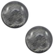 12 mm classic Polaris Elements cabochon Lively Dark Grey