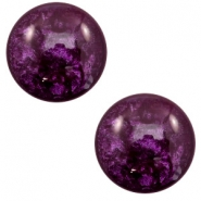 7 mm classic Polaris Elements cabochon Lively Dark Purple