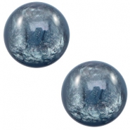 7 mm classic Polaris Elements cabochon Lively Quantum Blue