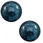 20 mm classic Polaris Elements cabochon Lively Petrol Blue